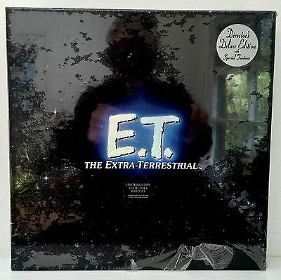 E.T. The Extra-Terrestrial Limited Edition LASERDISC BOX W/Gold CD SEALED NEW!!