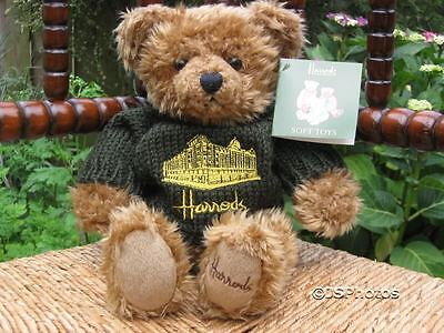 Harrods 12 Inch RB Green Silhouette Bear