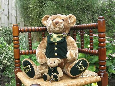 Harrods 150 Years Bear Foot Dated 1849 1999 with Baby