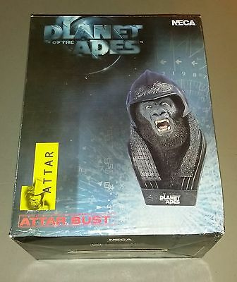 2001 Tim Burton Planet of the Apes Attar Bust by Neca