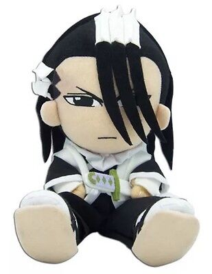 ON SALE! Official Anime Bleach Byakuya Plush Doll AUTHENTIC LICENSE