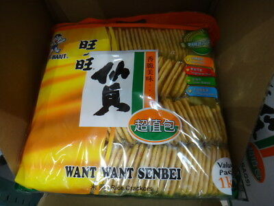 NEW Want Want Senbei Rice Crackers 1KG from Fairdinks