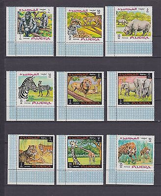 T12317 Fujeira 302-310 A postfr./mnh Tiere animals