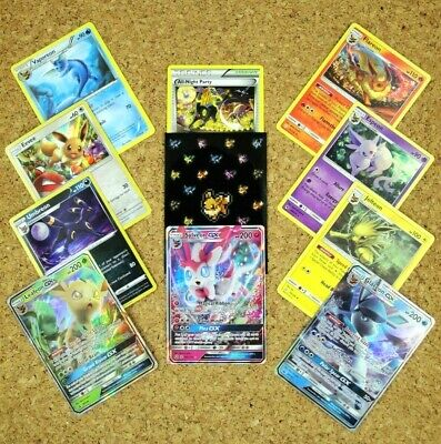 🌟EEVEELUTION MASTERPIECE COLLECTION🌟 A Fun 10 Card Eevee Evolution Pokemon Set