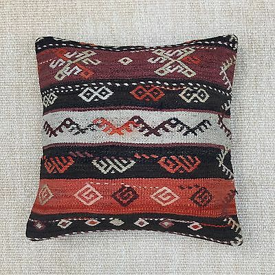 """Stripes Turkish Tribal Pillow Cover Vintage Handmade 20"""" x 20"""" inch"""