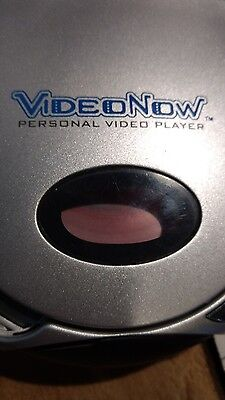 Hasbro VideoNow Color Personal Video Player Lot With one 2 movie disc