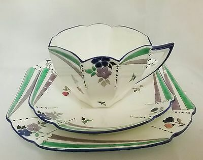 RARE 1920's SHELLEY ART DECO QUEEN ANNE TRIO PATTERN 11665 #8 (8 Listed)