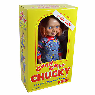 "Bride of Chucky Memorabilia: 2015 Mezco Child's Play 15"" Talking Good Guys Doll"