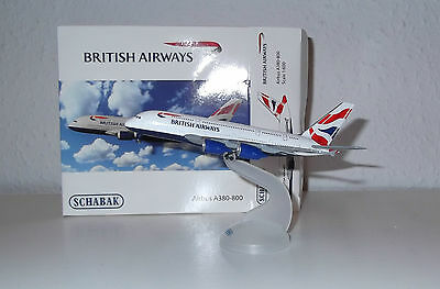 Schabak NG Airbus A380-800 British Airways 1:600 A 380 403551613 TOP NEU