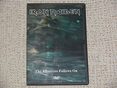 "Dvd Iron Maiden ""the Albatrossfollows On""  Brazil, Somewhere Back In Time475"