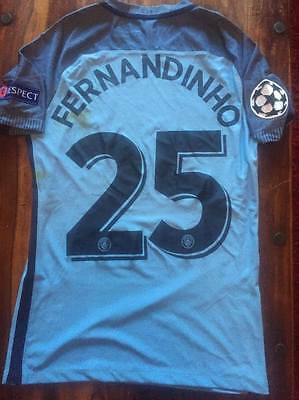 Match worn unwashed Fernandhino -CL game