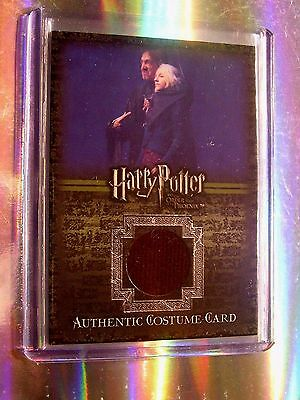 Harry Potter-OOTP-Movie-Authentic-Costume Card-Evanna Lynch-Luna Lovegood-C8