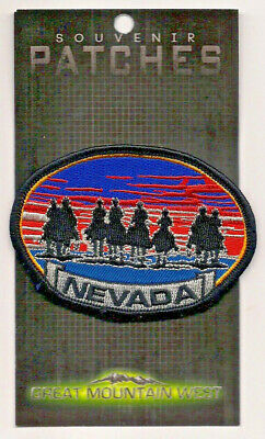 Souvenir Patch State Of Nevada