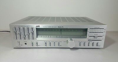 JVC R-S33L Stereo Receiver, SEA Graphic Equalizer, Super-A, Made In Japan