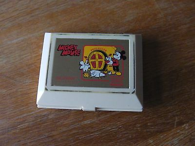 "Lcd game Orlitronic "" Mickey mouse "" game watch"