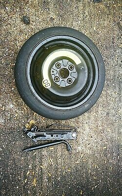 "Toyota Aygo 2005-2017 Space Saver 15"" Spare Wheel & Tyre Jack Kit"