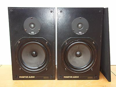 Vintage Monitor Audio R100 Main Bookshelf 8 Ohm Hi-Fi 2-Way Stereo Speakers