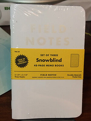 Field Notes - Snowblind - Sealed Three (3) Pack