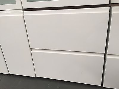 EX Display 700mm 2 drawers high gloss kitchen cabinet thermofoil