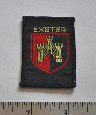 Exeter, England, UK, Boy Scouts Badge Patch
