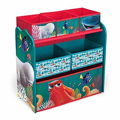 Delta Children Multi-Bin Toy Organizer Disney/Pixar Finding Dory, New