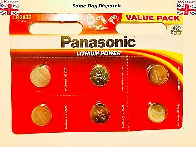 Panasonic CR2032 3 Volt Lithium Powered Coin Batteries 2032 Choose Your Coins