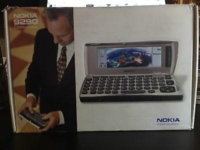 Nokia 9290 communicator vintage Cell Phone Complete 2000 Symbian OS EGSM