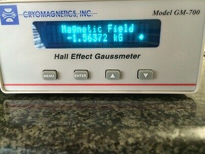 Cryomagnetics Model GM-700 Hall Effect Gaussmeter