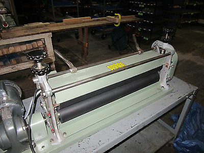 Potdevin 30in Rotary Press/Pinch Rollers (Excellent Condition)