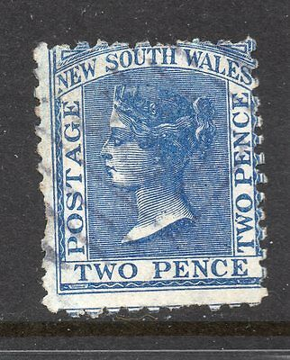 New South Wales #62 used perf 11 x 12, missing perfs