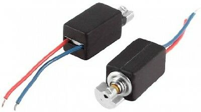4.6mm X 4.8mm 2 Wire Electric 2000RPM Speed Vibration Motor DC3V 2 Pcs