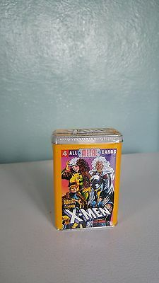 1996 Marvel Comics X-Men Team Metal Card Complete Set Tin Box