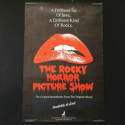 Rare Vintage 1978 The Rocky Horror Picture Show Original Poster by Ode Sounds