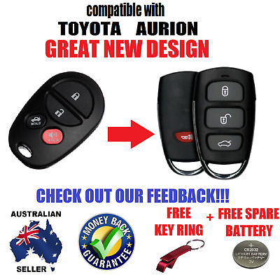 Toyota Aurion Kluger Remote Keyless Entry Fob 2006 2007 2008 2009 2010 2011