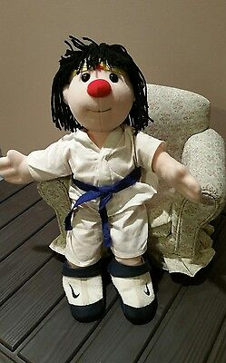 "Big Comfy Couch RARE Molly Doll 16"" KARATE MOLLY"