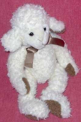"Russ Sugarcube Plush Lamb - Approx 12"" Long"
