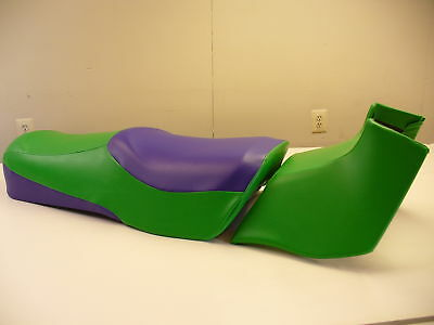 92-00 Seadoo Jetski  Gtx-Gts-Gti  Green & Purple Touring Seat Covers - **sale**!
