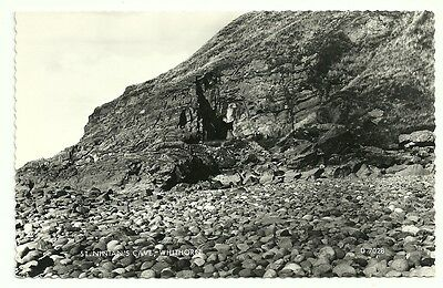 Postcard: St Nintan's Cave, Whithorn, Wigtownshire