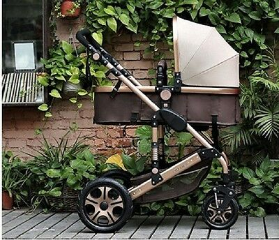 Folding Two-Way Baby Trolley Stroller Carriage With Shock Absorbers 0-36 Months
