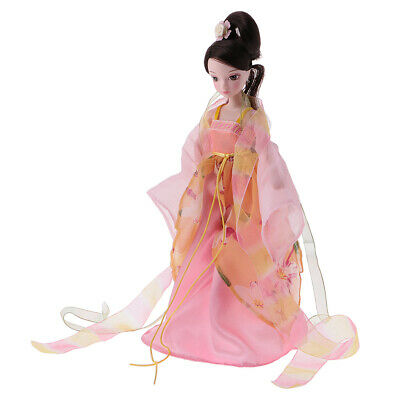 Flexible 10 Joints Fashion Costume Vinyl Body Doll Autumn Fairy Toy Gift