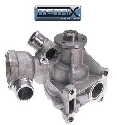 For Mercedes W126 300SEL W124 300SEL W201 Cast Iron Impeller Water Pump Graf