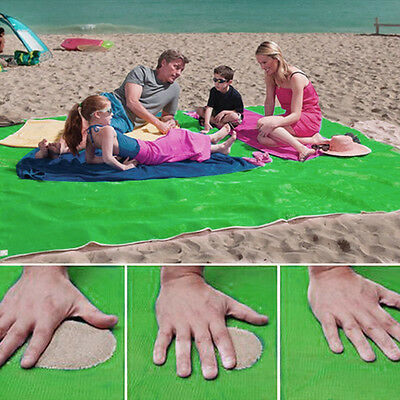 Sand Free Beach Magic Mat Outdoor Camping Picnic Large Mattress Waterproof Bags