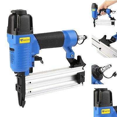 18 Gauge Air Nailer Stapler Heavy Duty Nail Staple Gun Kit 1.8-2.0mm 70-110psi