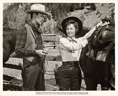 BARBARA STANWYCK vintage 1955 ORIGINAL MAVERICK QUEEN WESTERN COWBOY Movie Photo