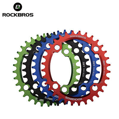 104 BCD RockBros MTB Bike Cranksets Chainrings Bicycle CNC Sprocket Chain Rings