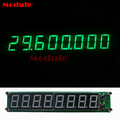 0.1-60MHz 20MHz ~ 2.4GHz RF Signal Frequency Counter Cymometer Tester Green M