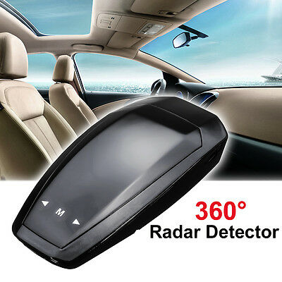 360° Band Detection Voice Alert Car Anti GPS Radar Laser Speed Camera Detector