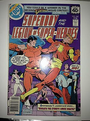 Superboy & the Legion of Super-Heroes #248 (Feb 1979, DC)  FN