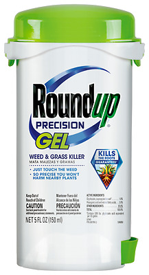 RoundUp Precision Gel Weed & Grass Killer 5 fl oz Just Touch The Weed!