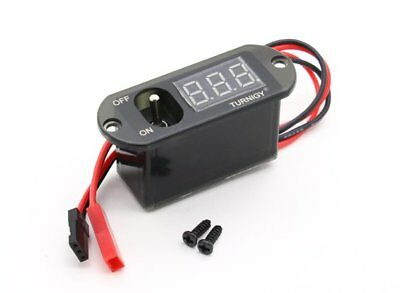 RC Turnigy 3 Function Switch w/UBEC, Voltage Display